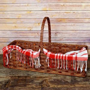 Hearth Basket Brown