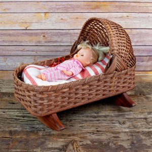 Special Doll Cradle Brown