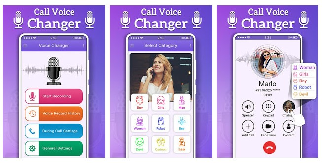 Realistic Best Male to Female Voice Changer Apps for Android