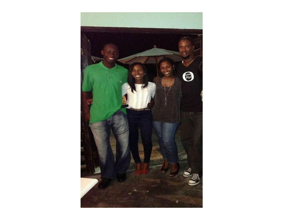 With Omari at Smokeys 2