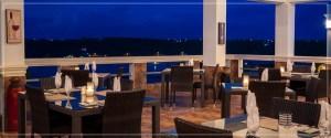 Interior of Flavours Restaurant, Anguilla