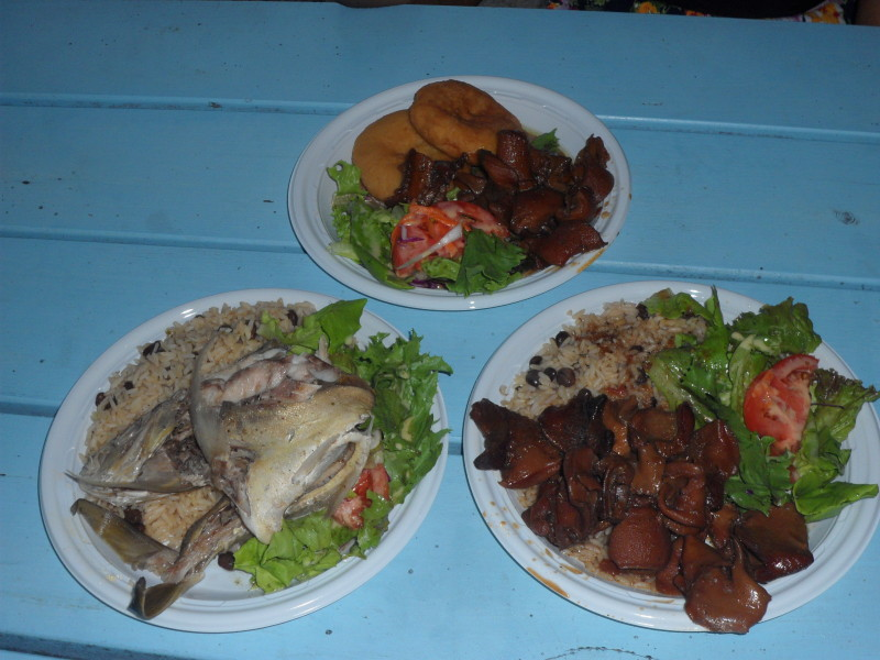 Conch and Fish at 'Taste of Anguilla,' Tasty's Restaurant, Anguilla