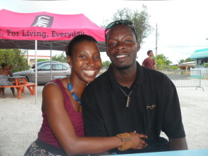 Nash and I at Taste of Anguilla, Tasty's, Anguilla