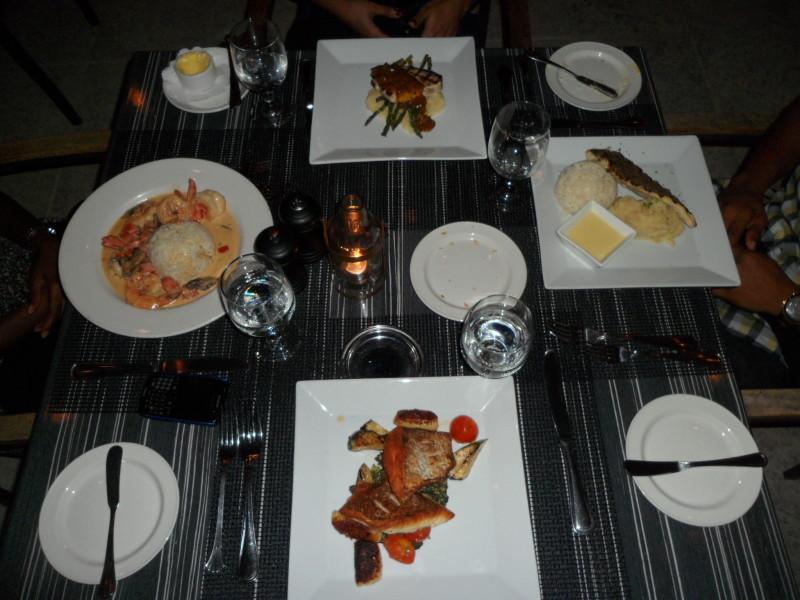 Dinner! Straw Hat, Anguilla