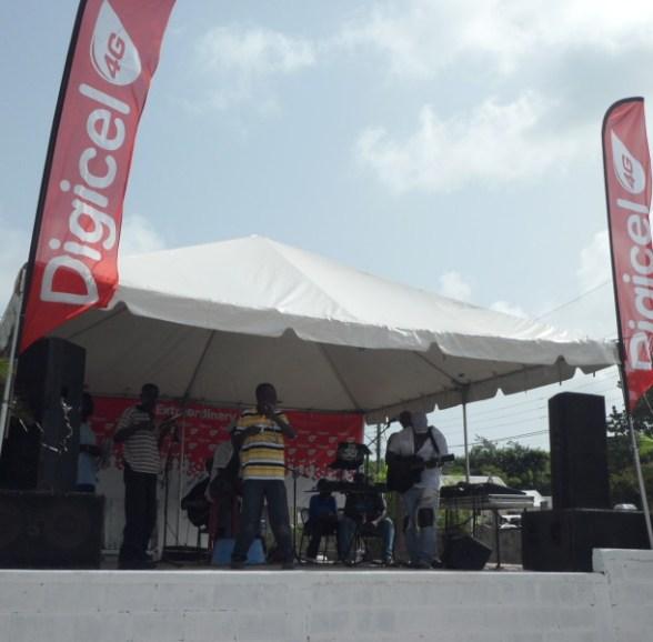 String Band at South Valley Community Street Fair, Anguilla