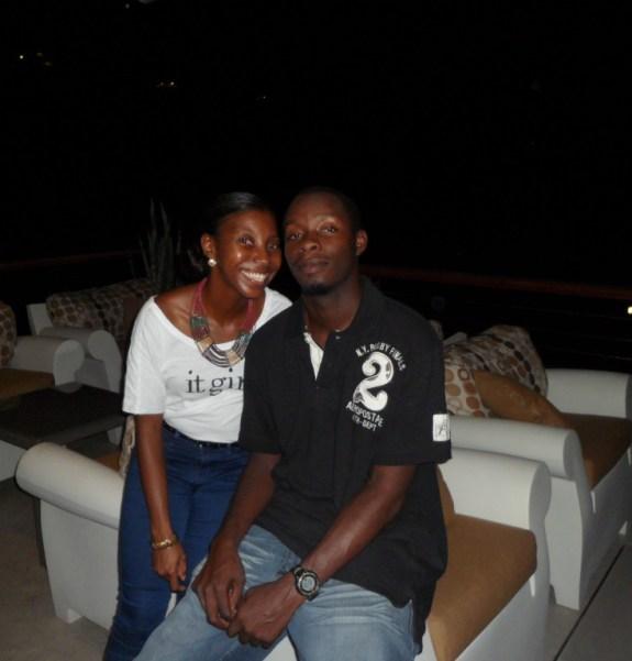 Nash and I at CeBlue Anguilla