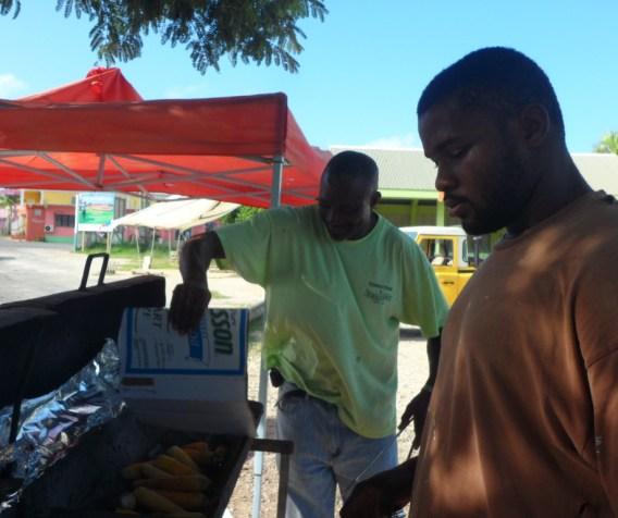 Roast Corn - Charlie Vanterpool, Anguilla