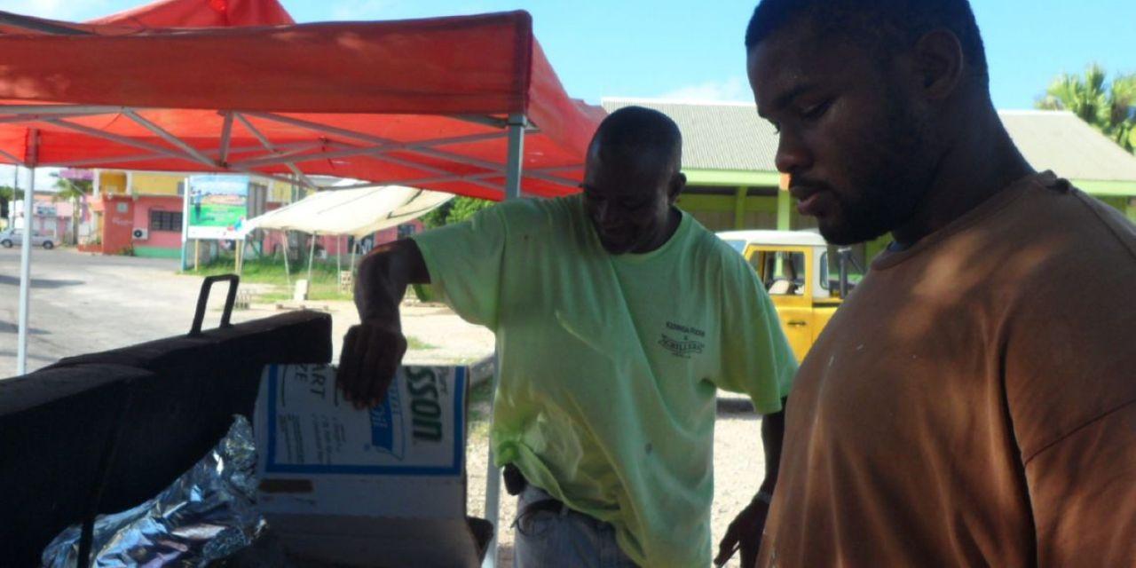 Roast Corn in Anguilla