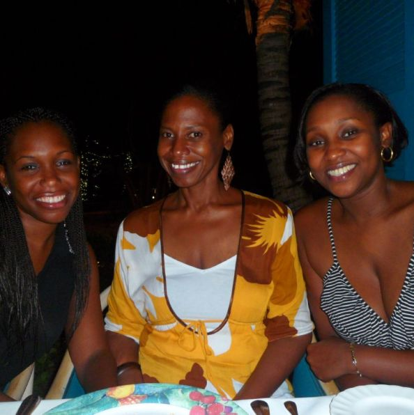 Friends at Blanchards Restaurant, Anguilla