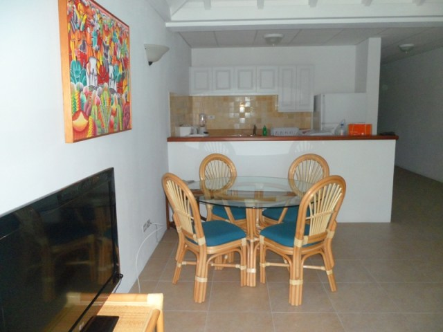 Kitchen and Dining Room at Shoal Bay Villas