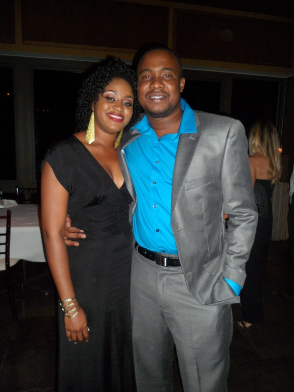 Chantelle, Deputy Director, ATB with Kendell