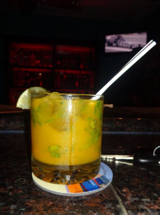 Mango Mojito at Tasty's Restaurant, Anguilla