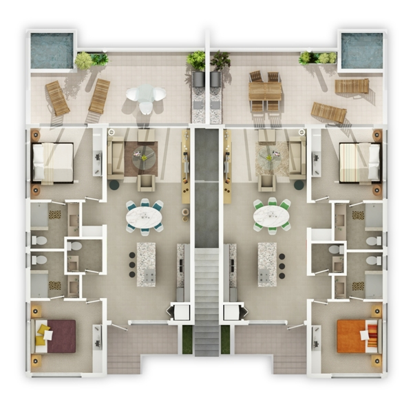 Butlers Estate, Interior View