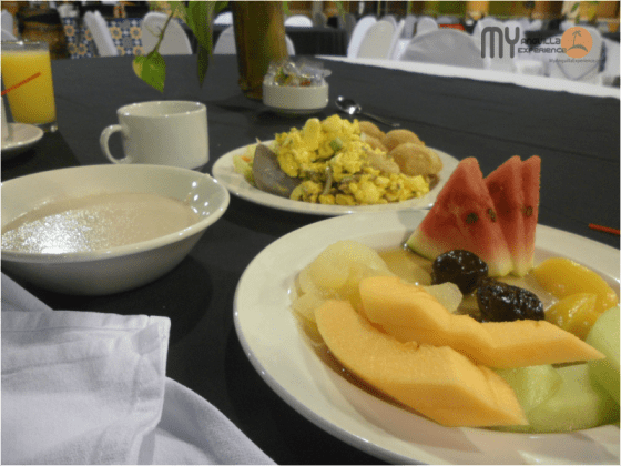 Jamaican Breakfast Buffet