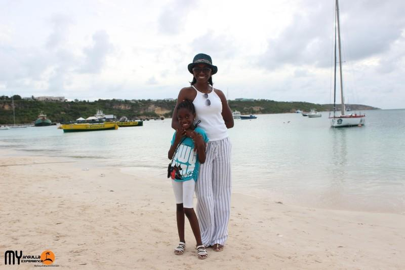 Denise at Anguilla Day boat race