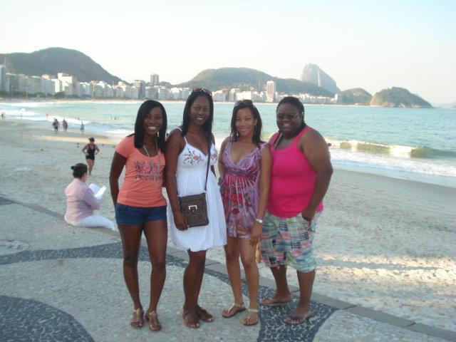 On the beach, Rio de Janeiro