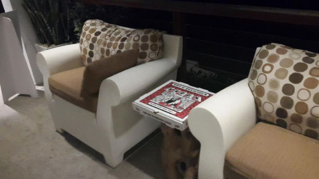 Take away Pizza at CeBlue