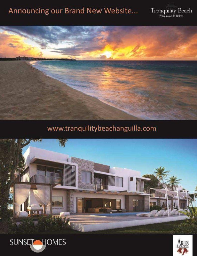 New Website for Sunset Homes