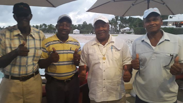 Taxi Drivers at Cap Juluca