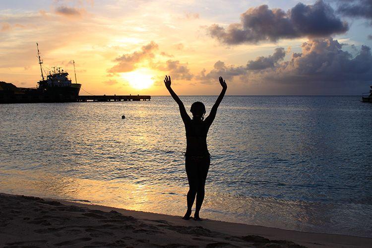 Beautiful Sunset in Anguilla