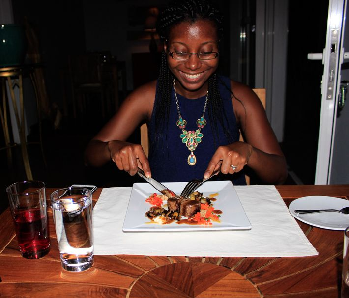 Dinner at De Cuisine, Anguilla