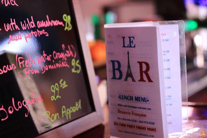 Le Bar Restaurant, Anguilla