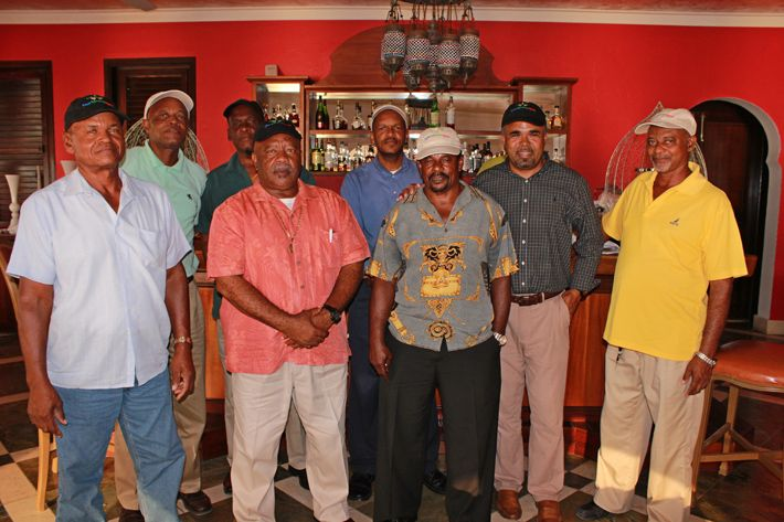 Taxi Drivers and Mr. Kevin Carty at Cap Juluca Hotel