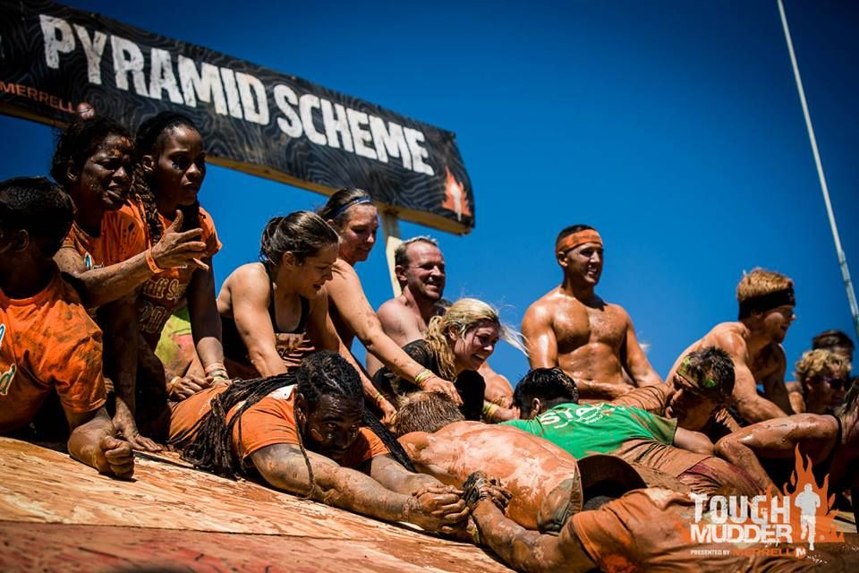 Teamwork Tough Mudder Atlanta 2016
