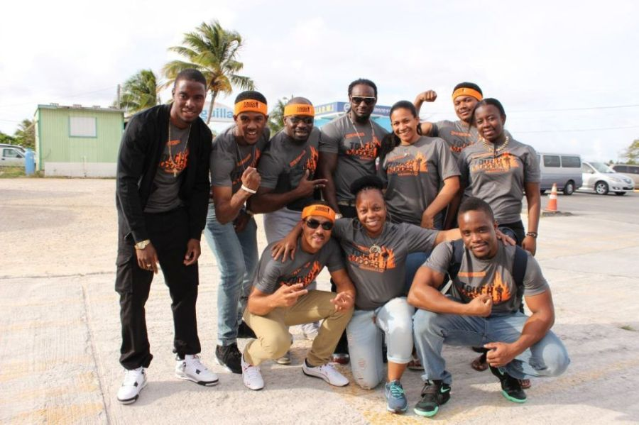 Anguilla Tough Mudder team