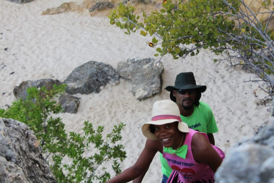Little Bay, Anguilla - Rope Climbing
