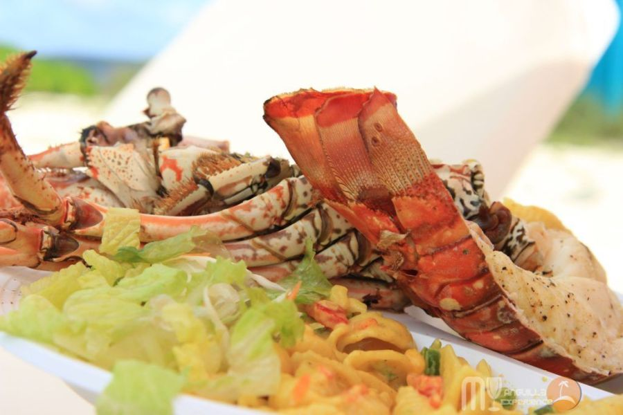Lobster on Sandy Island