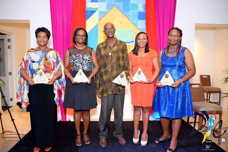 The awards recipients