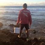 Whelking at Mimi Bay