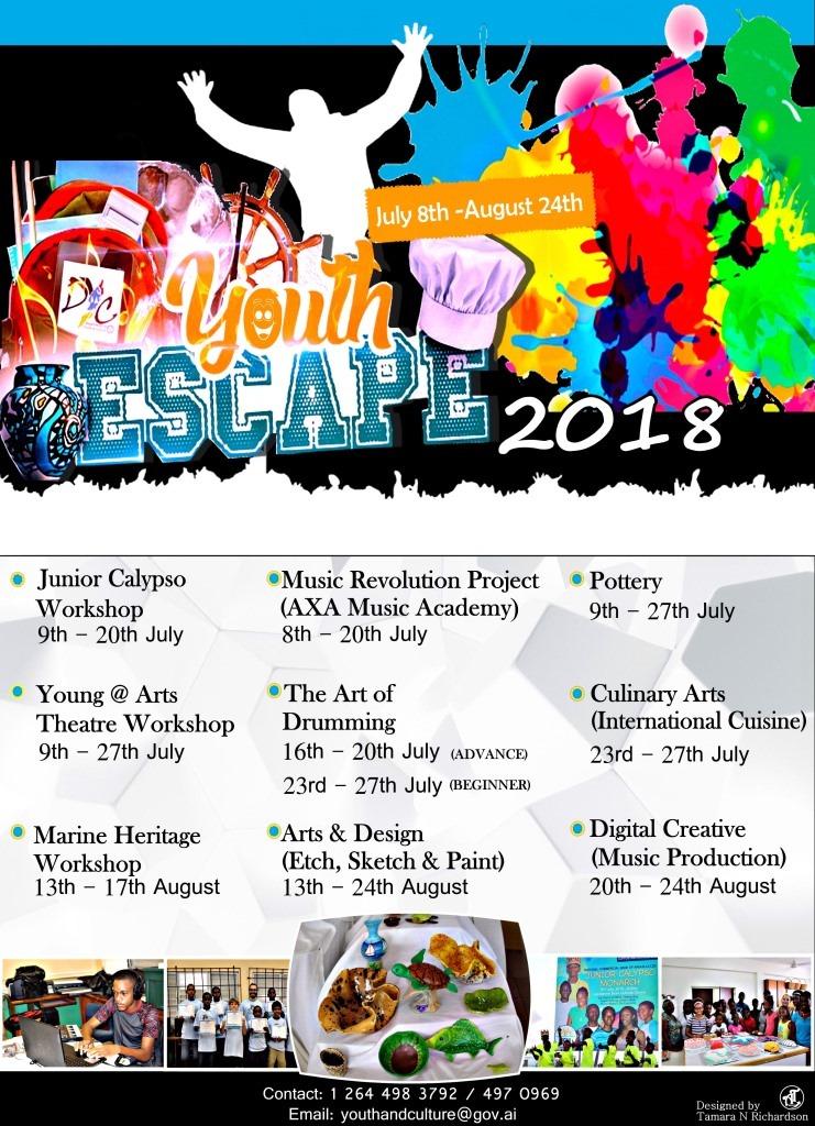 DYC Youth ESCAPE 2018
