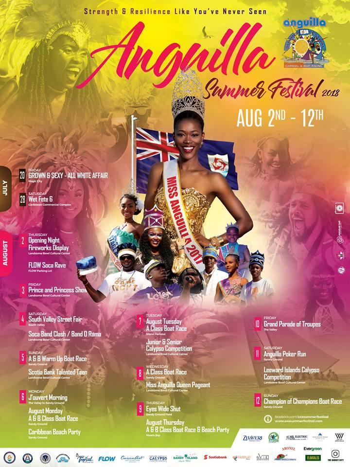 Summer Festival 2018 Schedule