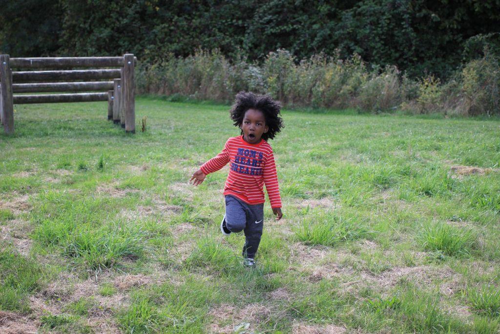 Xavi running Cambridge