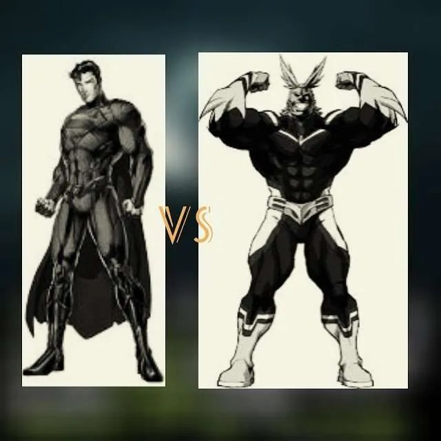 superman-and-all-might