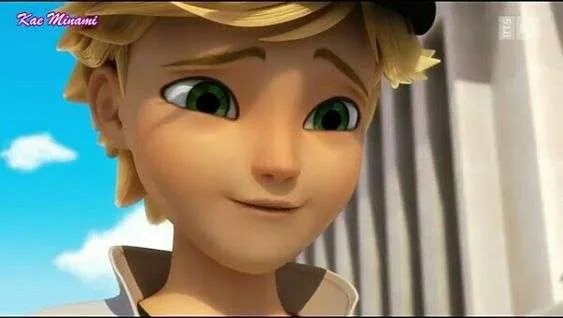 miraculous ladybug marinette and adrien chat blanc screenshot
