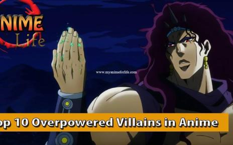 Top 10 Overpowered Anime Villains - My Top 10 Villains in Anime