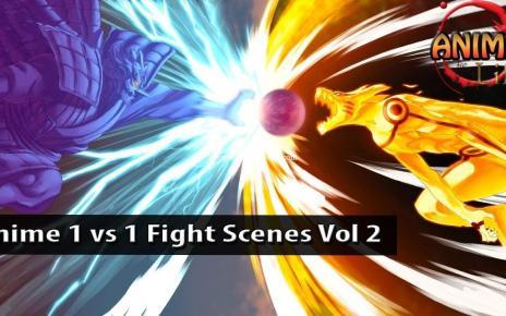Top 10 Epic Anime One vs One Fight Scenes Vol 2