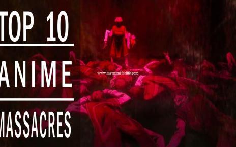 Top 10 Anime Massacres | Most Brutal Anime Deaths