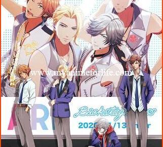 TV Anime ARP Backstage Pass Streamed by Crunchyroll