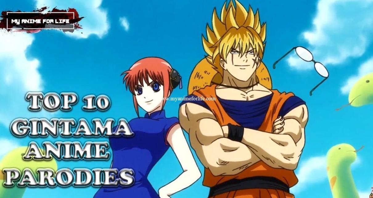 Top 10 Gintama Anime Parodies   Top Gintama Parodies   Gintama Parody