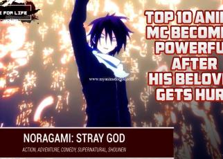 Top 10 Anime Where MC Becomes Powerful After His Beloved Gets Hurt