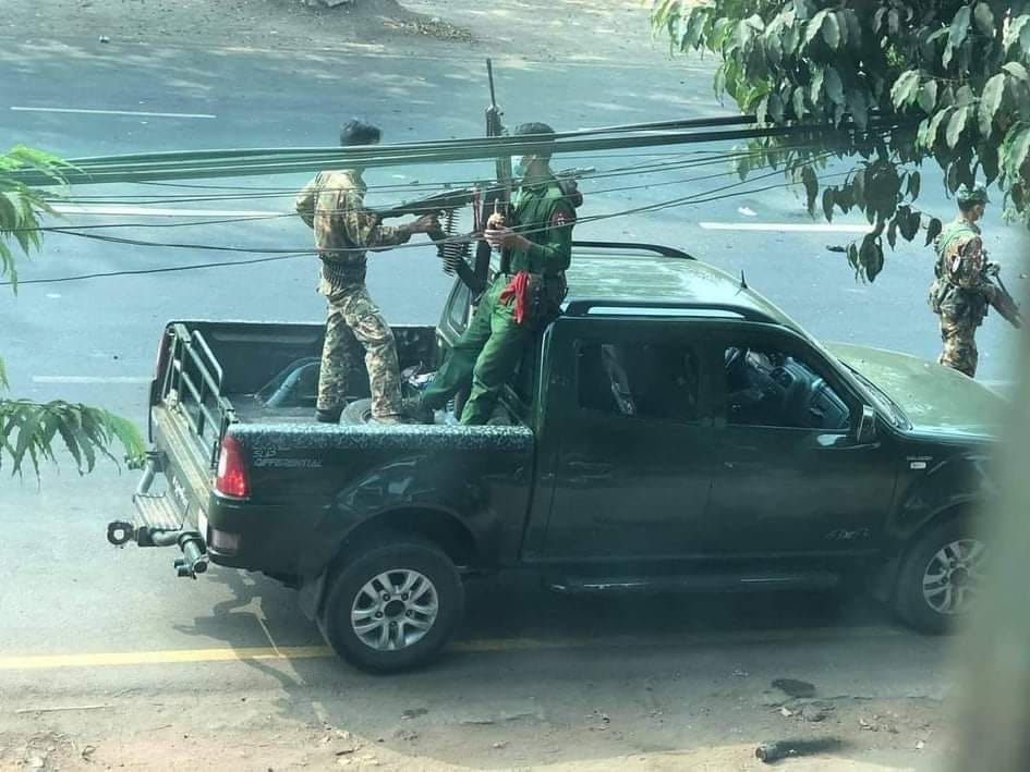 Cities terrorised as junta escalates lethal violence against public on Armed Forces Day | Myanmar NOW