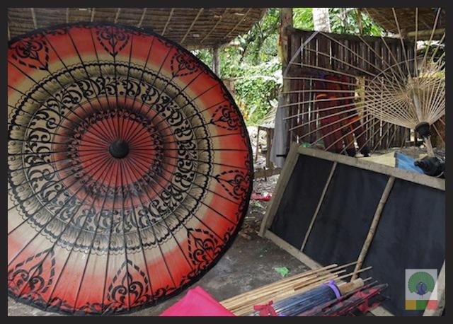 Burmese Bamboo Parasol Workshop - Pathein - Myanmar (Burma) 2