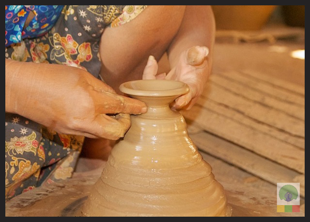 Pottery Workshop in Twante - near Yangon