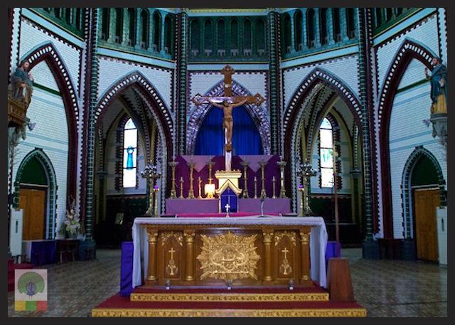 Saint Mary's Catholic Cathedral in Yangon - Myanmar_4
