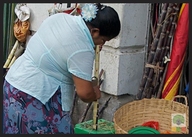 Sugar Cane Juice Yangon Myanmar 2