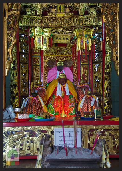 Kheng Hock Keong Chinese Temple - Yangon - Myanmar (Burma) 2